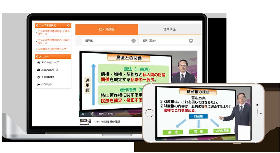 ビジネス著作権検定® 初級・上級セットコース[2017年度試験対応版]